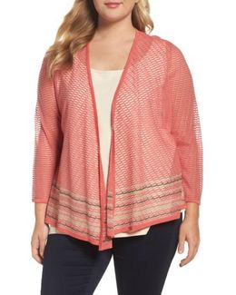 Rose Quartz Four-way Convertible Cardigan
