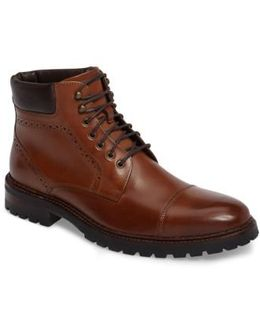Jennings Cap Toe Boot