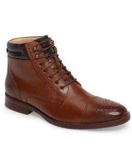 Garner Cap Toe Boot