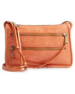 Mission Leather Crossbody Bag