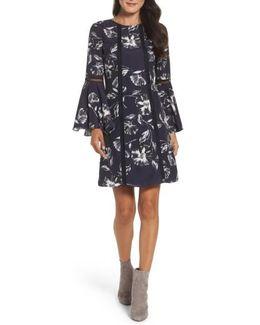 Crepe De Chine A-line Dress