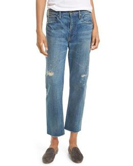 Union Distressed Slouch Jeans
