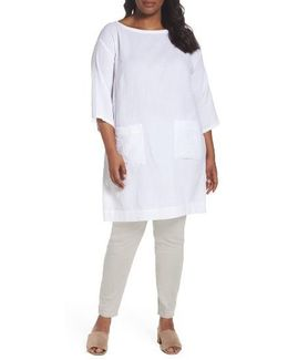 Organic Cotton Gauze Tunic