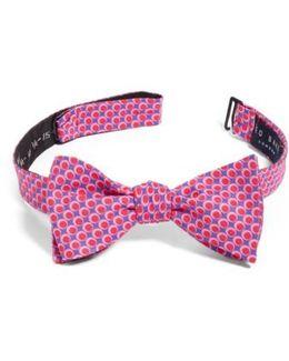 Dot Cotton & Silk Bow Tie