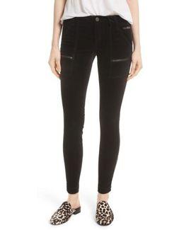 Park Stretch Cotton Skinny Pants