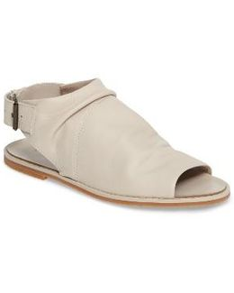 Slouchy Slingback Sandal