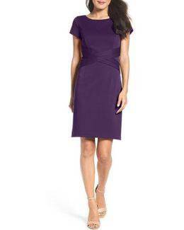 Ponte Sheath Dress