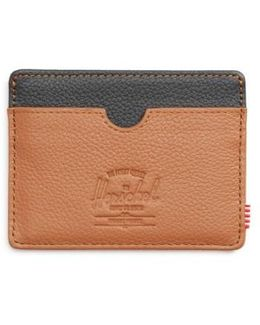 Charlie Pebble Leather Card Case