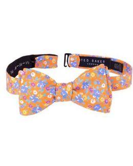 Floral Cotton Bow Tie