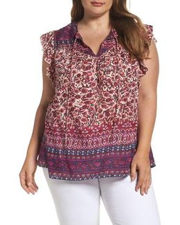 Lucy Peasant Top