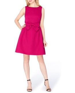 Bow Fit & Flare Dress