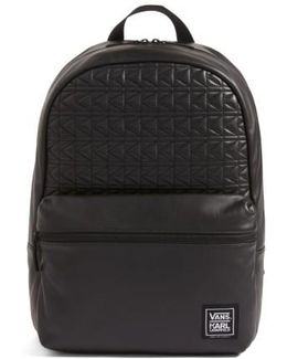 X Karl Lagerfeld Quilted Leather Backpack