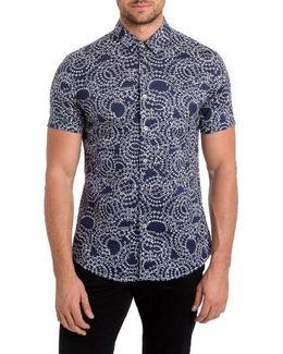 Clarity Print Woven Shirt
