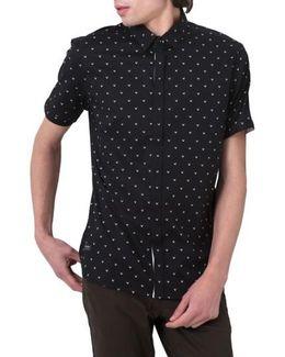 Free Sound Print Woven Shirt