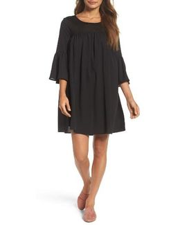 Polly Plains Shift Dress