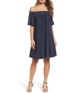 Chisulo Off The Shoulder Swing Dress