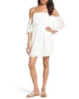 Blouson Lace Minidress