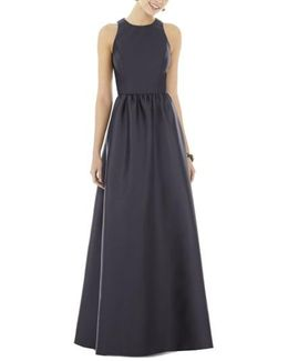 Sateen Gown
