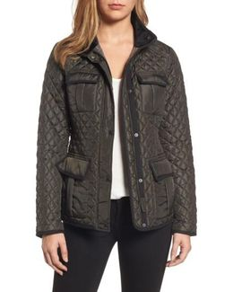 Quilted Utility Jacket