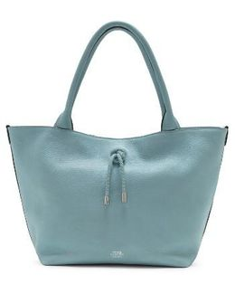 Small Aviva Leather Tote