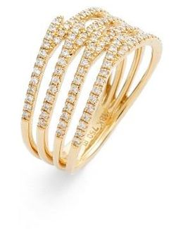Kiera Four-row Diamond Ring (nordstrom Exclusive)
