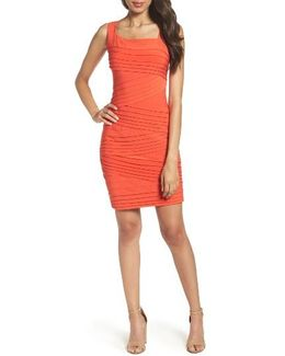 Banded Body-con Dress