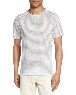 John Varvatos Star Usa Plated Stripe T-shirt