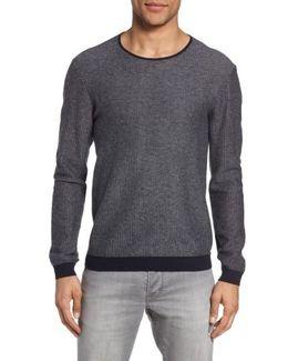 John Varvatos Star Usa Cotton & Cashmere Sweater