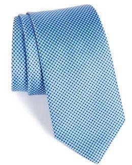 Microdot Silk Tie