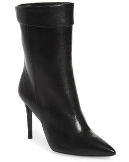 Sylvie Cuffed Pointy Toe Bootie