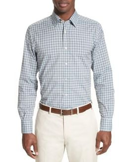 Gradient Check Sport Shirt