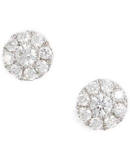 Simple Obsessions Pave Diamond Stud Earrings (nordstrom Exclusive)