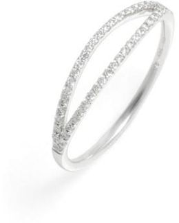 Kiera Two-row Diamond Stack Ring (nordstrom Exclusive)