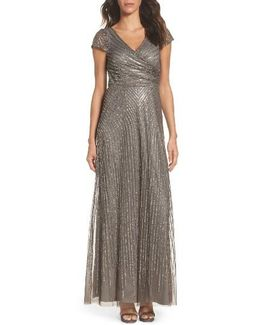Sequin Gown