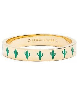 Look Sharp Hinge Bangle