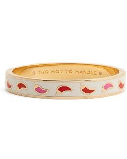 Too Hot To Handle Idiom Bangle