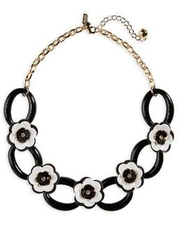 Kate Spade Rose Posies Link Necklace