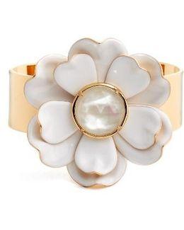 Bright Blossom Flower Cuff