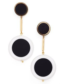 Connect The Dots Drop Earrings