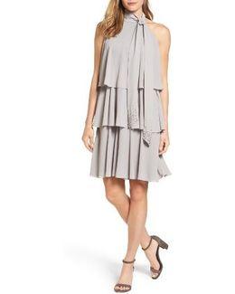 Embellished Swing Dress
