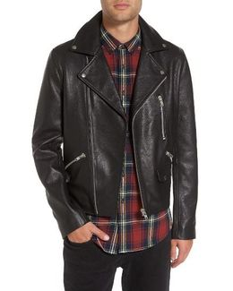 Staines Leather Moto Jacket