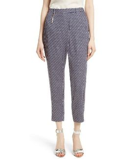 Fylie Cross Front Crop Trousers