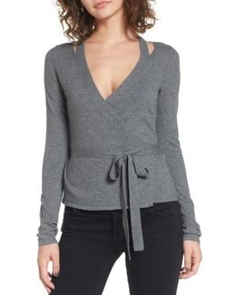 Glissade Wrap Sweater