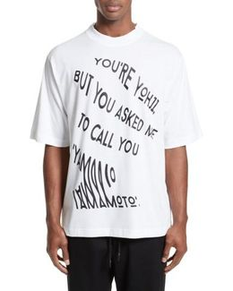 Yohji Graphic T-shirt