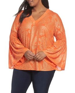 Samara Bell Sleeve Top