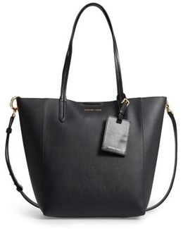 Penny Large Saffiano Convertible Leather Tote