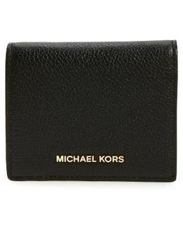 Mercer Leather Rfid Card Holder