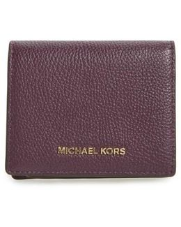 Mercer Leather Rfid Card Holder