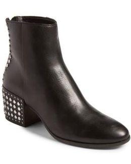 Mazey Block Heel Bootie