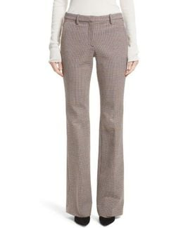 Demitria 2 Flare Leg Stretch Wool Pants
